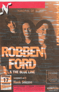 Robben Ford & the Blue Line - 17 feb. 1996