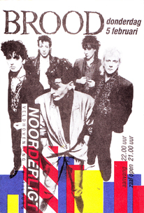 Herman Brood -  5 feb. 1987