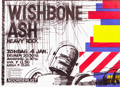 Wishbone Ash -  4 jan. 1987