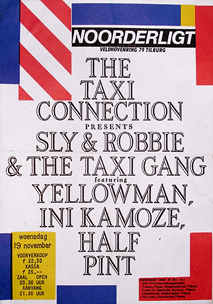 Taxi Connection presents Sly & Robbie feat. Yellowman - 19 nov 1986